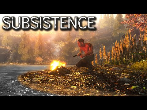 One Of The Best Survive Craft Build Games | Subsistence Gameplay | EP1
