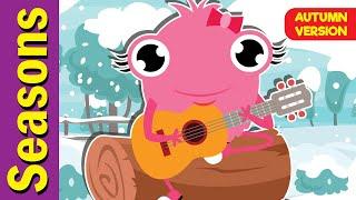 Seasons Song (Autumn Version) | Seasons Song for ESL | Fun Kids English