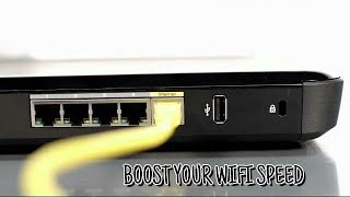 How To Speed Up Your Internet SPEED 1000x Faster - BOOST Your WI-FI Speed.