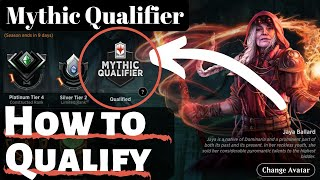 How to qualify for the MTG Arena Mythic Championship Qualifiers - tips and tricks