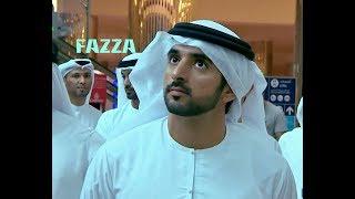 Sheikh Hamdan ( فزاع Fazza) - at Dubai airport (22.7.2018)