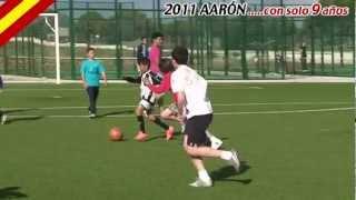 preview picture of video '☆ aaron rubio salazar de badajoz 9 years old ☆'