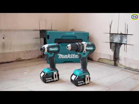 Makita 18V LXT Brushless Combi Drill and Impact Driver 2 Piece Kit
