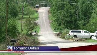 Tornado Debris Nearly Cleared in Jacksonville