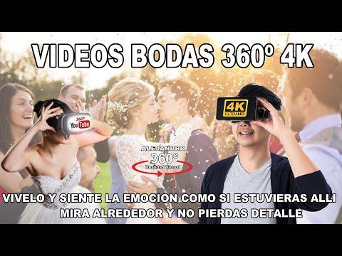 bodas 360 grado realidad virtual 4k