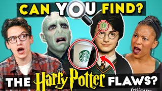 8 Harry Potter Mistakes You Won't Believe You Missed | Find The Flaws