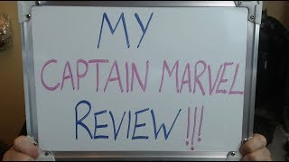 CAPTAIN MARVEL Review: SPOILERS.. I DIDN'T See It !!