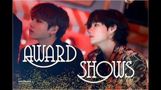 Just Some Good Ol' TAEKOOK Award Show Moments