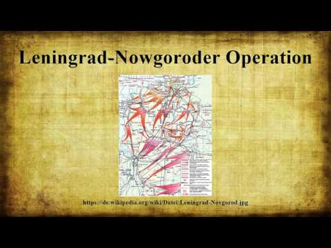 Leningrad-Nowgoroder Operation