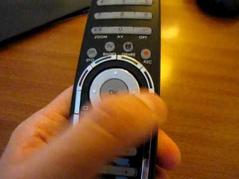 TechniSat HD8-S Fernbedienung