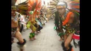 preview picture of video 'SAN ANTONIO 2013 EN GUANAJUATO CON LA DANZA AZTECA'