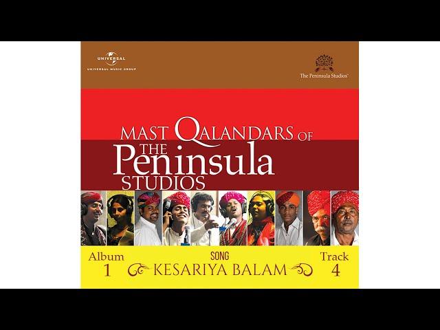 """Kesariya Balam"" by the Mast Qalandars"