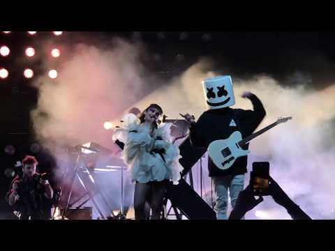 CHVRCHES - Here With Me  (with Marshmello) -  Coachella 2019 Weekend 1 - 4/14/2019