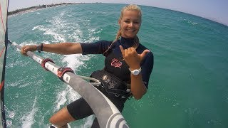 A day in the life of a windsurf instructor ~Greece