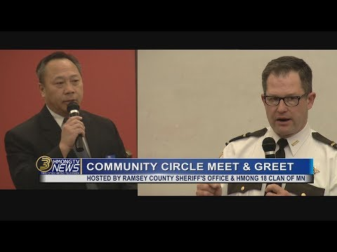 3 HMONG NEWS: RAMSEY COUNTY SHERIFF'S OFFICE PROMOTES DIVERSITY IN LAW ENFORCEMENT.