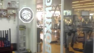 Тренировка в клубе бокса Яновского В.Я. Женская группа.
