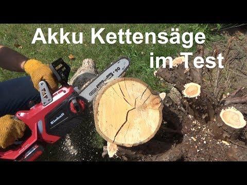 Einhell GE LC 18 Li Kit Akku Kettensäge im Test von The Handyman