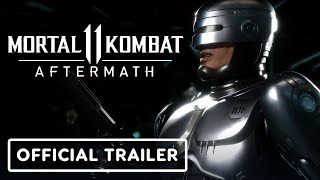 Mortal Kombat 11's expansion, Aftermath, is releasing on May 26 and will not only add new story content to MK11, but will also welcome Fujin, Sheeva, and RoboCop to the roster.  #ign