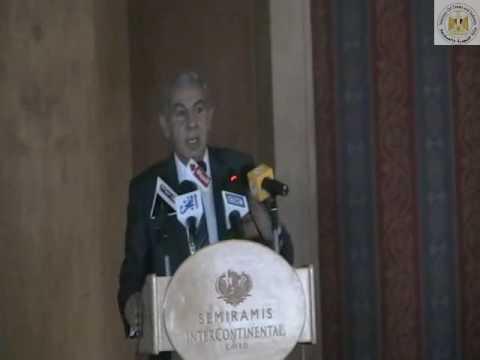 """كلمة الوزير/ طارق قابيل خلال افتتاح مؤتمر يوم (التصنيع الزراعى..""""مصر تنمو"""")"""