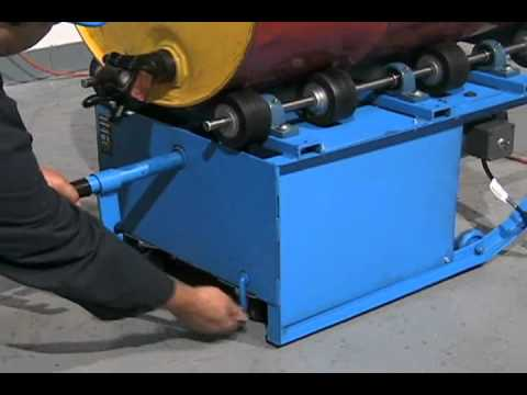 Video Thumnbnail for 200 SERIES PORTABLE DRUM ROLLERS OPERATIONAL GUIDE