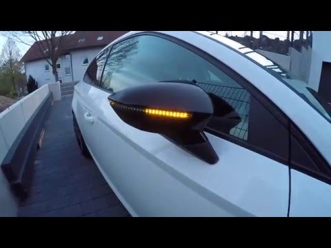 Seat Leon 5F - Dynamischer Blinker / dynamic indicator