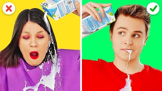 AWESOME FUNNY TRICKS YOU NEED TO TRY || Genius Hacks And Magic Tricks by 123 Go! Live
