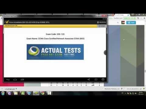 تشغيل الـ dumps لكل الكورسات 2015 A+ VCE - YouTube
