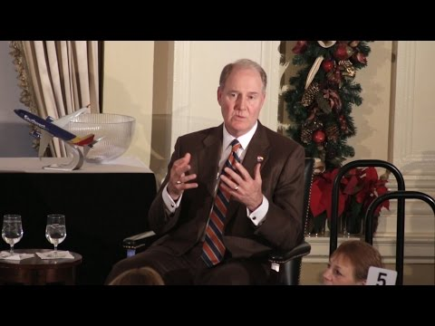 Gary Kelly - The December 2014 Luncheon