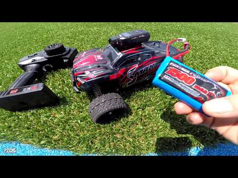 REMO HOBBY SMAX 1/16th Waterproof MINI Monster Truck – PLAYGROUND BASH REVIEW