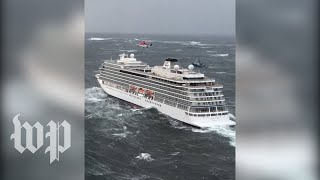 Norway cruise ship in chaos after engine failure prompts evacuations