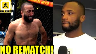Leon Edwards not interested in rematch with Belal Muhammad after his Eye Poke results in No-Contest