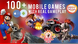 100+ Android iOS Games | 2019 | The Ultimate Mobile Games List with Real Gameplay