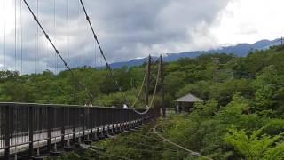 栃木県観光名所つつじ吊橋Tsutsujisuspensionbridge