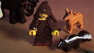 Sint Franciscus en Dierendag uitgelegd met LEGO
