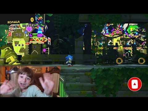 Прохождение Sonic Forces. Обзор Часть 3. Игры для детей на ПК
