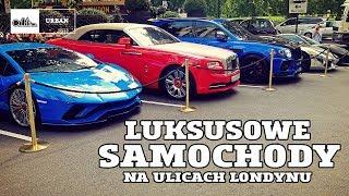 Luksusowe samochody na ulicach LONDYNU #100