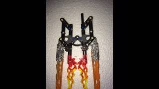 Bionicle 2016 how to store the Uniter's weapons