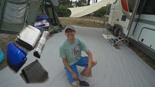 Der beste Zeltteppich im Praxistest!