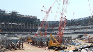 Tokyo Olympics main stadium to be completed on time--officials