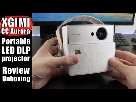 XGIMI CC Aurora REVIEW: AWESOME Portable LED DLP Projector + 3D Glasses and Tripod