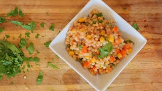 Delicious Couscous and Veggies – healthy recipe channel