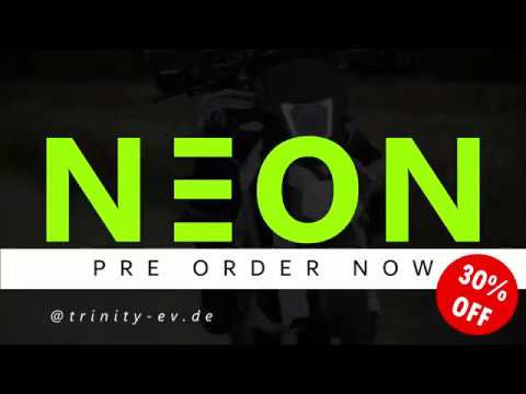 E-Motorrad NEON - Trinity meets Dirt'n'Mud