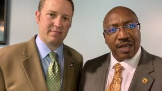James Reddish, LR Chamber, and Marvin Burton, LRSD