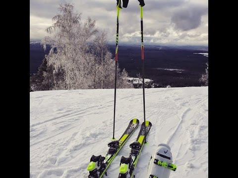 Видео: Видео горнолыжного курорта Ежовая, Гора в Свердловская область