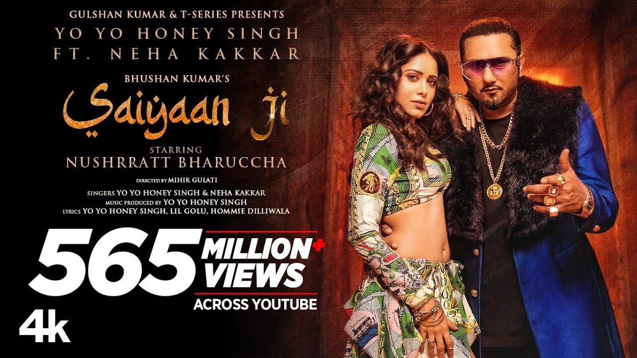 Saiyaan Ji Yo Yo Honey Singh, Neha Kakkar|Nushrratt Bharuccha| Lil G, Hommie D| Mihir G|Bhushan K - Yo Yo Honey Singh featuring Neha Kakkar Lyrics in hindi