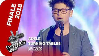 Adele - Turning Tables (Flavio) | Finale | The Voice Kids 2018 | SAT.1