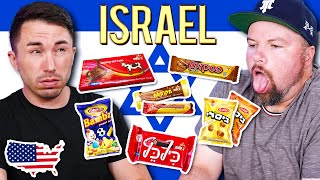 Americans Try Weird Israeli Snacks For The First Time