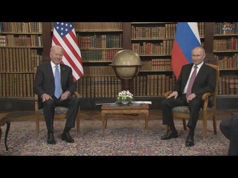 Συνάντηση Μπάιντεν – Πούτιν στην Ελβετία
