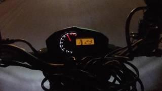 Wideband Readings Kawasaki Z125 (143cc Big Bore Installed)
