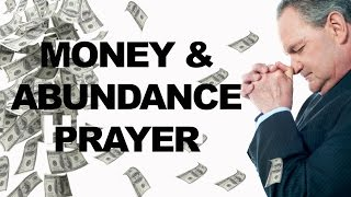 Money and Abundance Prayer